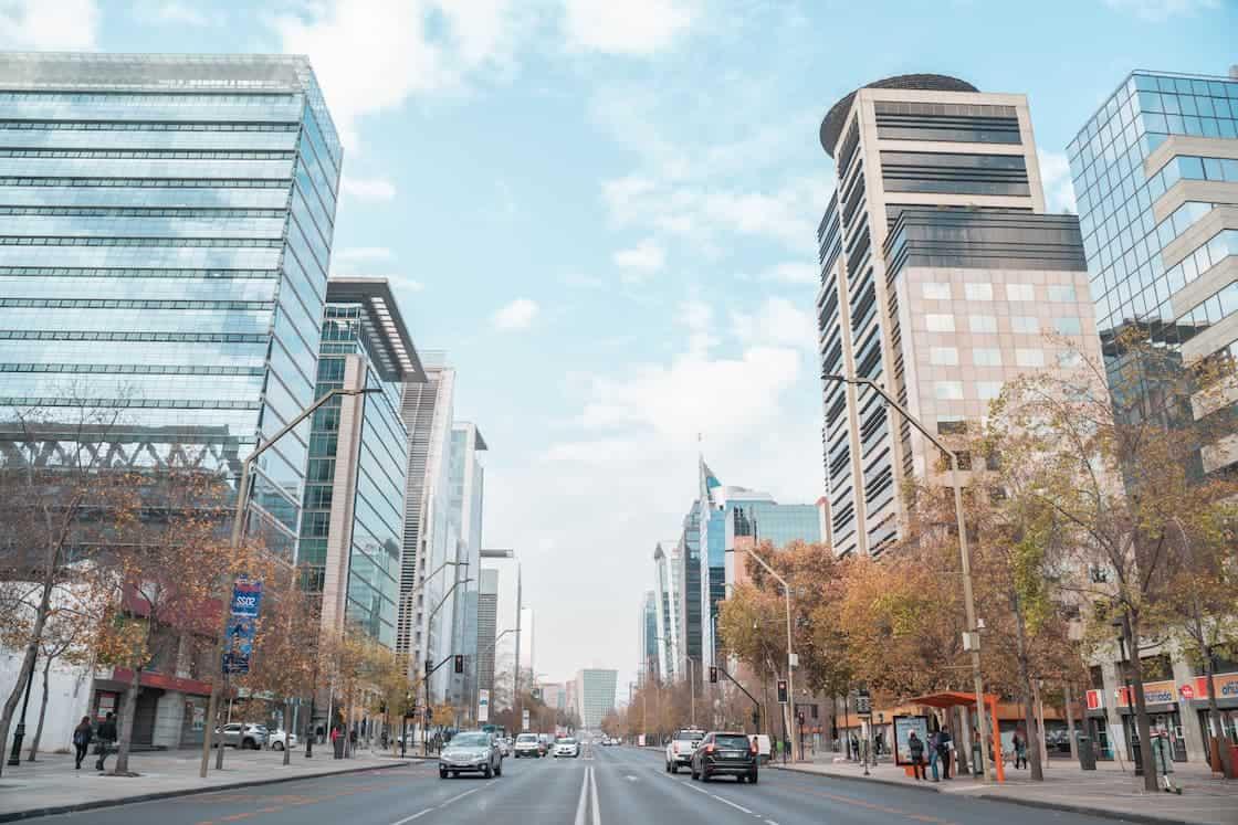 Down Town Santiago de Chile
